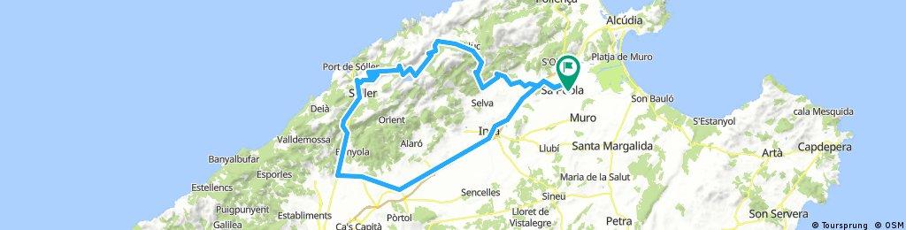 20180325 Sa Pobla-Binibona-Sa Batalla-Sòller-Coll de Sòller-Santa Maria-Sa Pobla