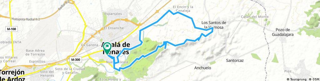 Ruta por los cerros Alcalá-Los Santos-Alcalá