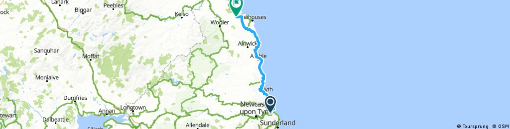 GB 004: Newcastle - Belford
