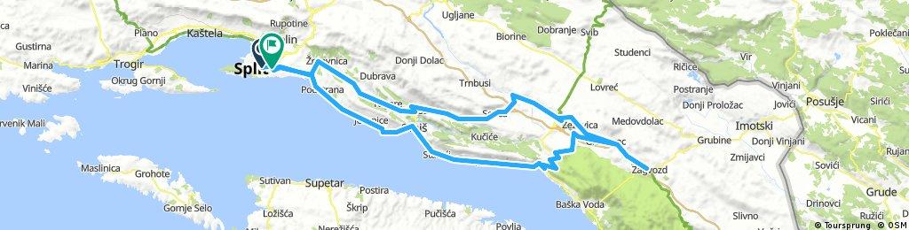 Split-Zagvozd