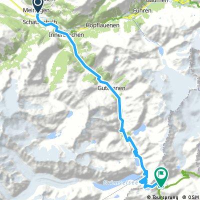 Meiringen to grimselpass and Lac d'engstlen