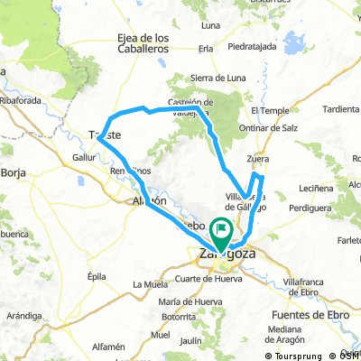 Vuelta a Castejón y Tauste
