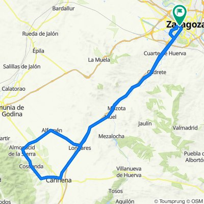 Vuelta a Almonacid y Cosuenda