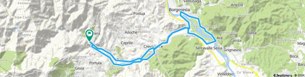 Coggiola Borgosesia Serravalle