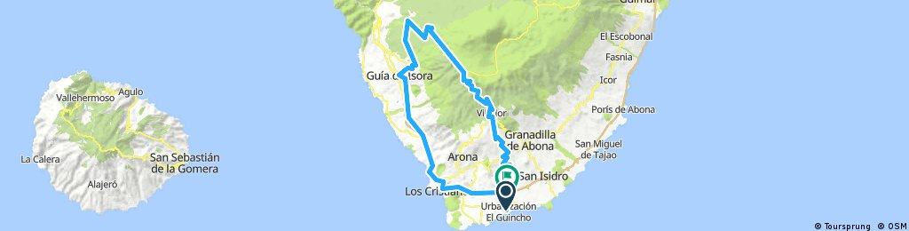 La Sombrera 100km/2600vm