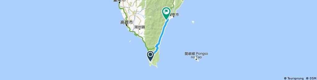 環島第6天(107/03/29)恆春至知本
