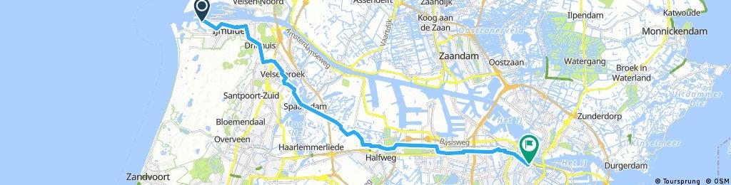 Amsterdam Fähre-Bahnhof City