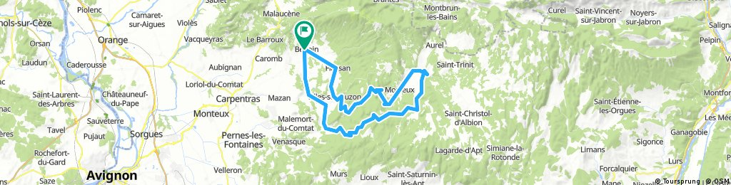 Bédoin-Flassan-Nesque-Sault-Méthamis-Mormoiron