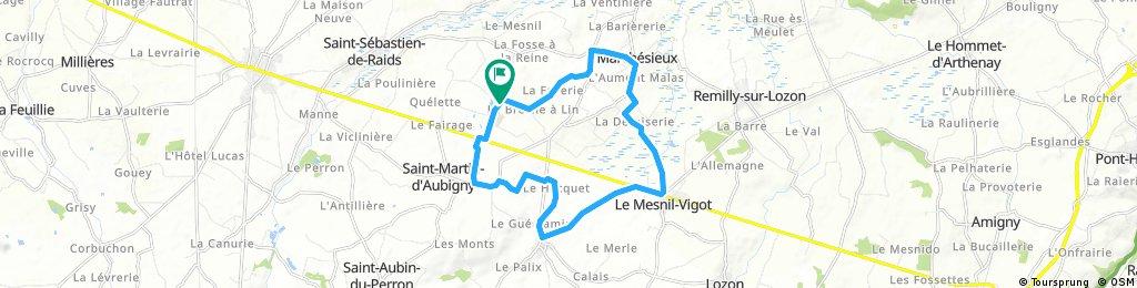 Tour des 3 communes. 16 km