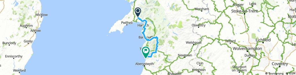 Stage 3: Dolbenmaen to Borth
