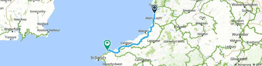 Stage 4: Borth to Trefasser