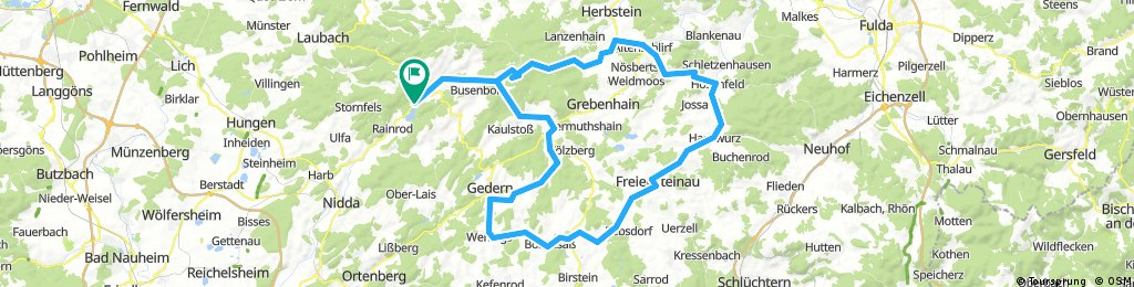 DE Schotten - Ost-Runde ober Hoherodskopf