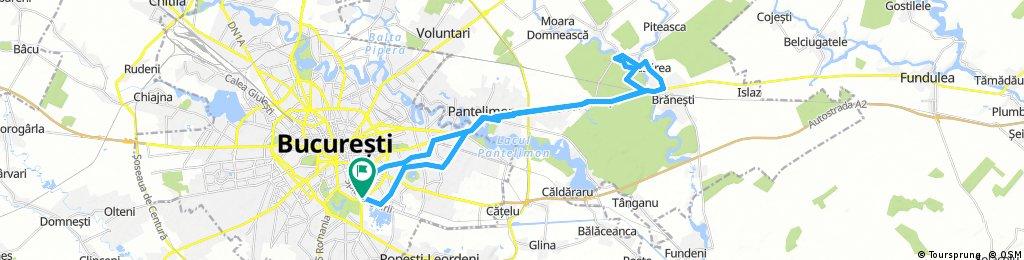 Bucuresti - Pasarea - Cernica - Bucuresti