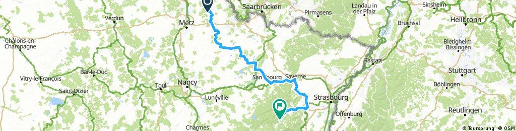 Rome, Etappe 3, Burtoncourt - Rothau