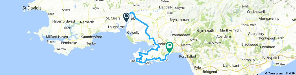 Stage 6: Pant yr Athro to Swansea