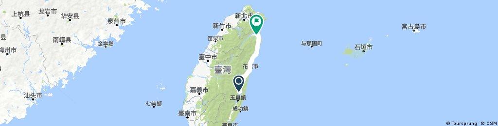 環島趣第8天(107/03/31)瑞穗至羅東