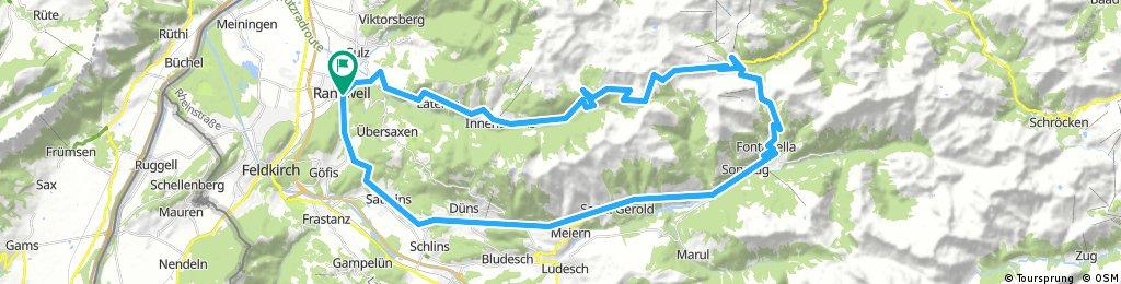 Bregenzer Wald runde