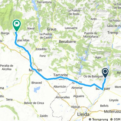 Day 4 - Lorenc to Alquezar