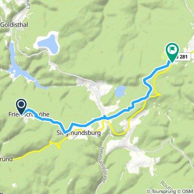 1.2.1. Skitour Friedrichshöhe-Neuhaus/Rennweg