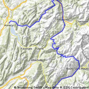 TDF 13 Moutiers - Annecy