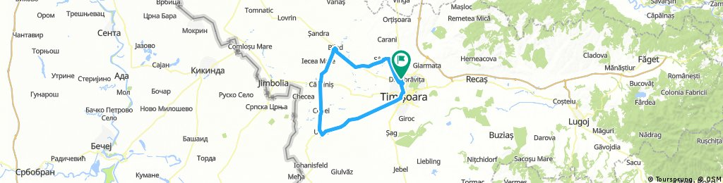 Timisoara-Biled-Carpinis-Uivar Timisoara