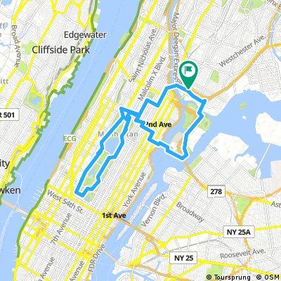 Radwege und Routen in und um Manhattan | Bikemap - Deine Radrouten on
