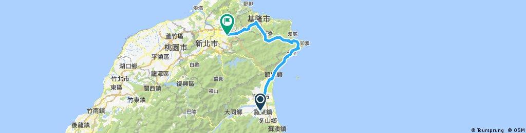 環島趣第9天(107/04/01)羅東至松山