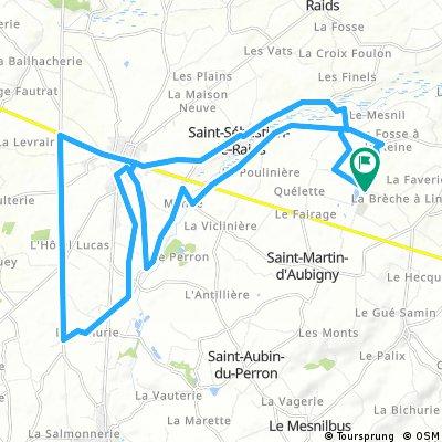 circuit 1/04/2018. 32 km