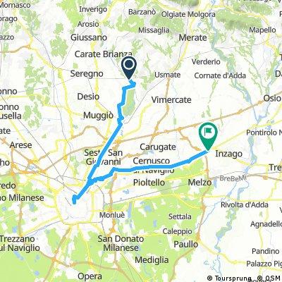 Como - Kurzer Umweg über Monza - Mailand