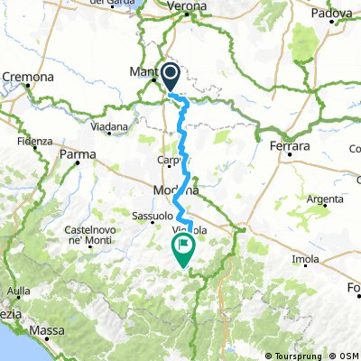 Rome, Etappe 10, Bagnolo San Vito - Zocca