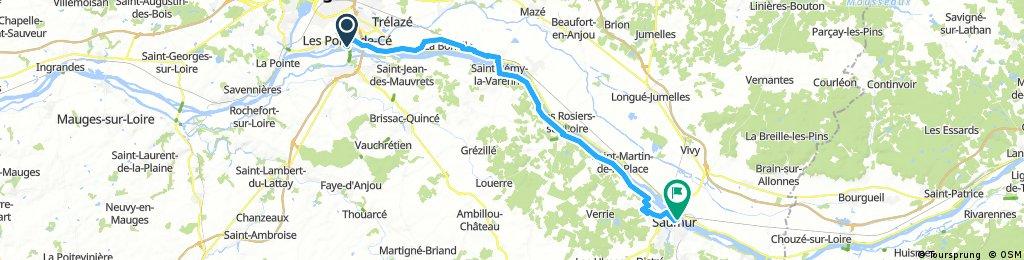 Tag 4 Les Ponts-de-Cé - Saumur