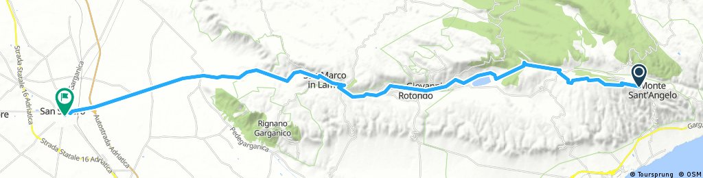 Dia 5 Monte San Angelo a Severo