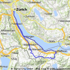 Zürich-Etzel-Bachgaden-Zürich