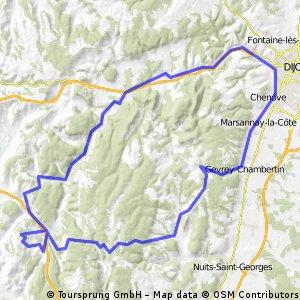 Chenôve - Vallée de l'Ouche- Travail en côtes