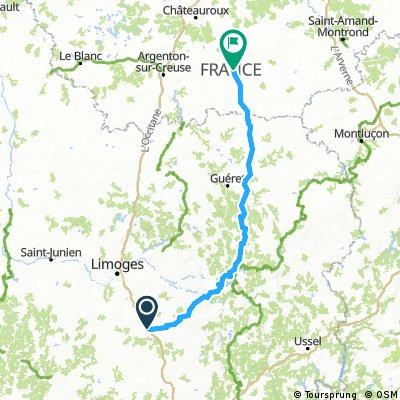 ALT. Brive-La -Gaiilarde --Magnac-Bourg