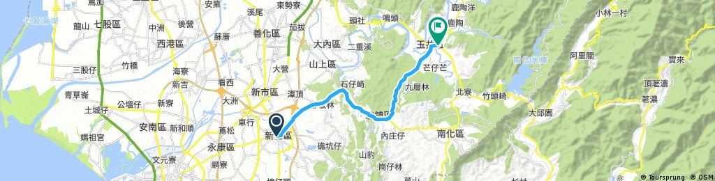 【台積復健上等】玉井夜騎路線