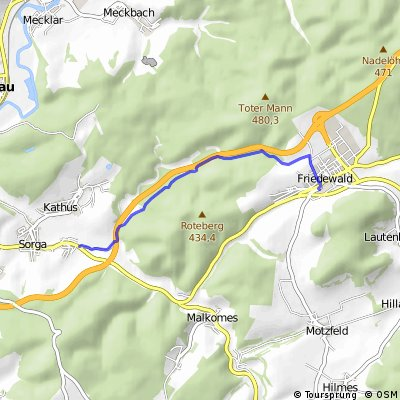 Westlicher Seulingswald