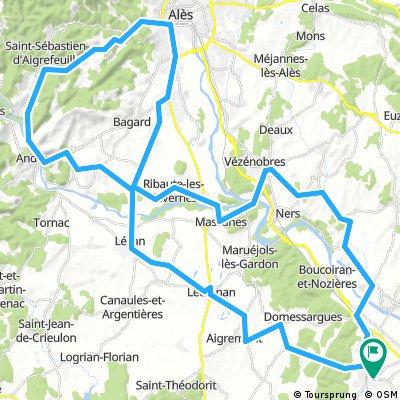 80km Alès