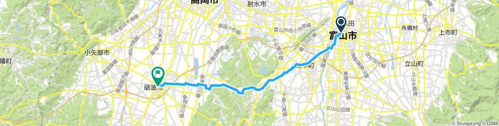 Etape 11 - Toyama/Kanazawa
