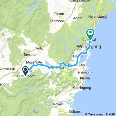 Bundanoon-forbi Wollongong