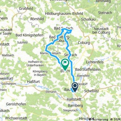 Von Breitengüpssbach nach Rodach und Ebern