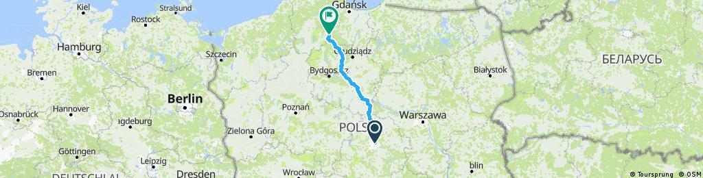 Łódź-Odry A