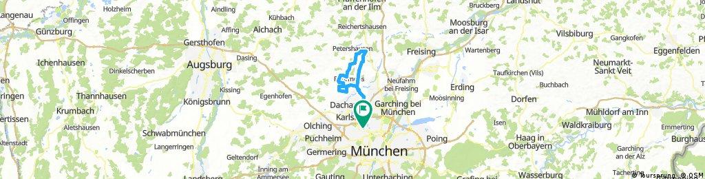 Ampermoching-Weißling-Röhrmoos-Arzbach-Ampermoching