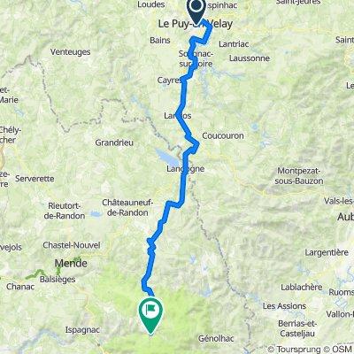 001 Le Puy-en-Velay - Le Pont-de-Montvert