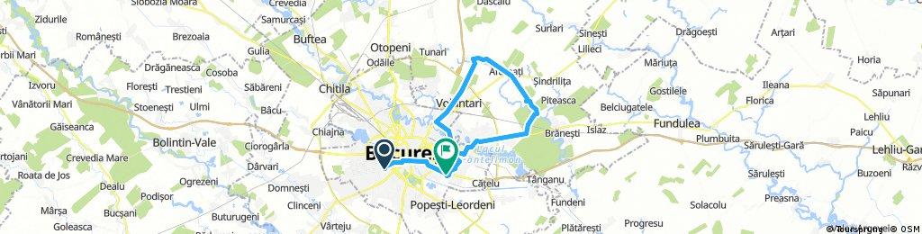 Luni 9 Aprilie 54+ km