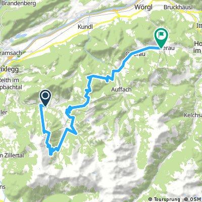 Bikeschaukel-Etappe 13: Alpbach - Niederau/Wildschönau