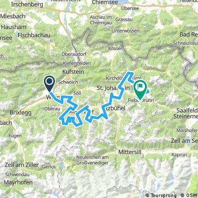 """KAT Bike"" – Mehrtägige Tour in den Kitzbüheler Alpen"