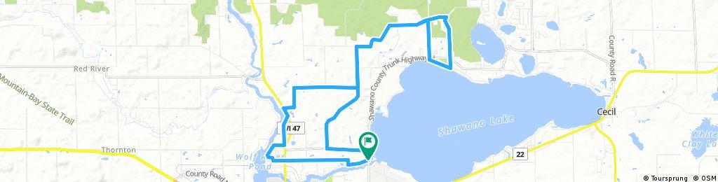 Wescott County Park Route