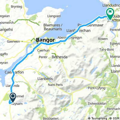 Penygroes to Conwy