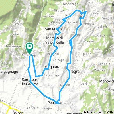 Weingarten-Fenken-Zundelbach-Weingarten | Bikemap - Your bike routes